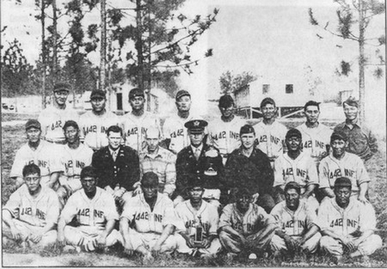 442nd RCT baseball team