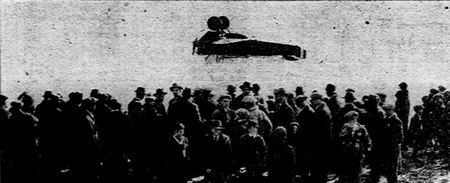 Lt. Richard T. Aldworth Plane Crash 1926