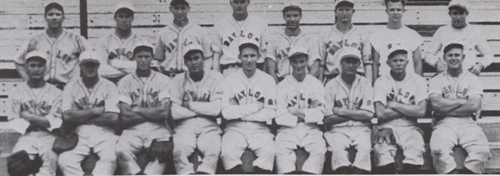 Baylor baseball team 1941