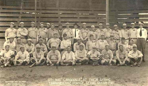 The 1921 St. Louis Cardinals