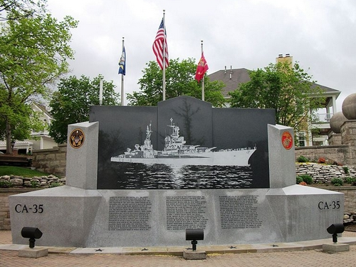 the USS Indianapolis National Memorial was opened. It is located on the Canal Walk in Indianapolis