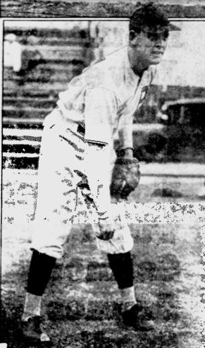 Errol Stoner with the Pittsburgh Pirates 1933