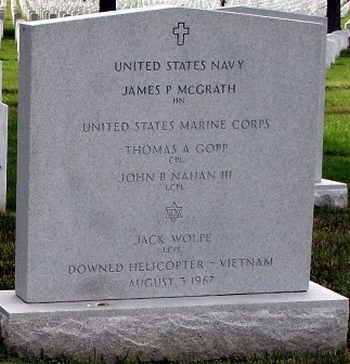 Jack Wolpe's Grave